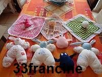 doudous couture et crochet