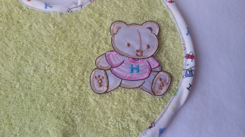 8 broderie ou applique